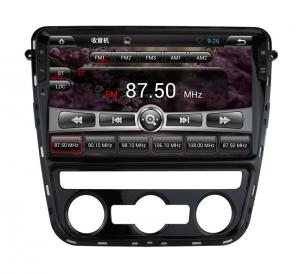 China Volkswagen Navigation DVD Player , VW Passat Navigation System With Bluetooth on sale