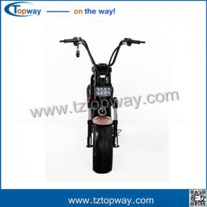 China Fat tyre electric scooter 60V 1000W halley two wheels citycoco on sale
