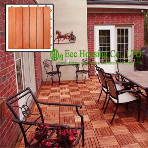 China 300x300x23mm Outdoor Bamboo Flooring,Decking Tile Unit Series,Matt Finish on sale