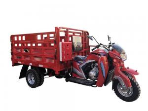 China Adult 250CC Cargo Tricycle Open Body Type 1700 * 1250mm Drum Brake 60km/H Max Speed on sale