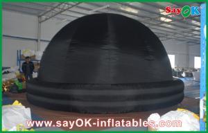 China Education Mobile Planetarium Inflatable Black Air Dome Diameter 5m on sale