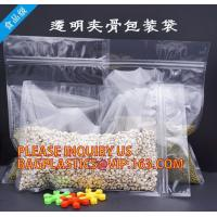 Candy Seal PP Plastic Zip Lock Bag, rice bag, pp rice bags, Freshness Protection Package Self Sealing clear Zip Lock Pla