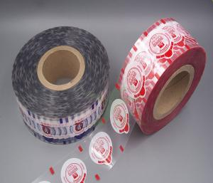 China Plastic Cup Sealing / Lidding Moisture Barrier Film For Water PE PP PS PET Cup on sale
