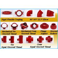 China Ductile Iron Pipe Fittings Rigid Coupling with FM UL on sale
