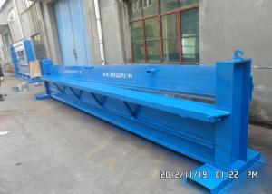 China Steel Sheet Hydraulic Cutting Machine 1mm PPGI Galvanized Metal Color on sale