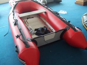 China Hot inflatable motor boat on sale