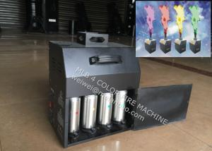 China Four Color Stage Fire Machine , 200W DMX512 stage flameProjector on sale