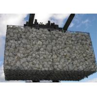 China Durable Hexagonal Gabion Basket with Hot Dipped Galvanized for  Retaining Stone on sale