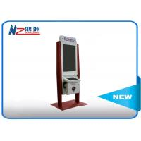 32 inch self service payment kiosk with RFID card reader and bill acceptor