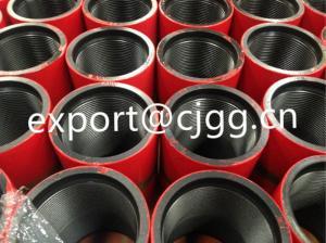 China Cubierta y tubería del campo petrolífero de espec. 5CT del API con el protector del acoplamiento/de hilo on sale