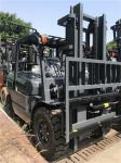 Pneumatic Tire Diesel Forklift Truck Equip Efficient Engine Heavy - Duty Axle