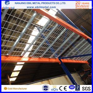 China Stainless steel Wire Mesh Decking / Pallet Racking Accessory Galvanized Wire Decking on sale