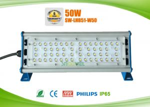China Linear design IP65 50w LED warehouse rack lighting, CRI over 80Ra on sale
