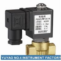 Miniature Direct Acting Electric Solenoid Air Valve Normally Closed 2 Way