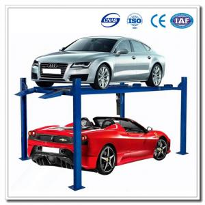 China Four Post Car Lift Automatic Car Parking System on sale