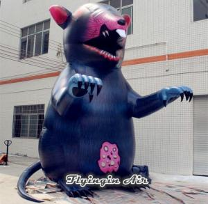 China Customized Great Inflatable Mouse for Concert and Halloween Decoration on sale
