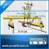 Pneumatic Mobile Rock Driller for Vertical and Horizontal Drilling