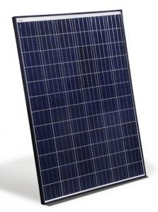 China Swimming Pool Crystal Solar Panels 270W - 300W Aluminium Alloy Frame IP65 supplier