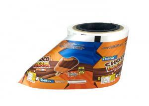 China Ice Cream Wrapper Food Grade Plastic Film PET/VMPET/PE Laminated Material Easy Tear on sale