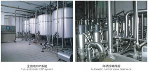 China Customized Milk Processing Line High Productivity With Cip System on sale