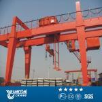 Yuantai large capacity MG double girder gantry crane with hook cap
