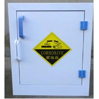 High Grade PP Hazardous Safety Chemical Cabinet 4 Gallon With Adjustable Shelves