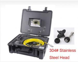 China HVB 30/40m Cable Drain Sewer Pipe Inspection Camera, Underwater CCTV Video Inspection camera on sale