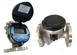 China Stainless Steel SUS304 Ultrasonic Flow Meter Flange Connection DN50-DN300 on sale