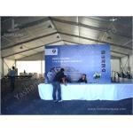 Mostre barracas exteriores do período do espaço livre do dossel do evento, barraca de alumínio 20X25 M da estrutura