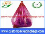 Colorful Collapsible Plastic Laundry Bags , Water Soluble Hotel Laundry Bags