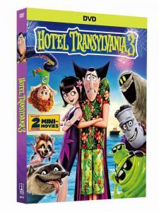 China 2018 newest Hotel Transylvania 3 disney dvd movies cartoon movies kids movies with slip cover case drop ship on sale