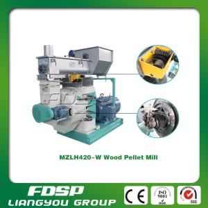 China 1T/H wood sawdust pellet making machine for sale on sale