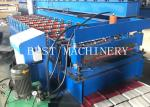Metal Roofing Sheet Roll Forming Making Machine, 3KW Chain Driven
