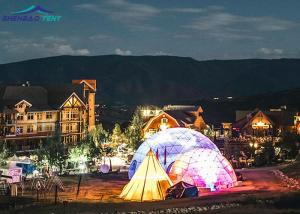 China 100% Rainproof Outdoor Event Geodesic Dome Tent For Special High End Event on sale