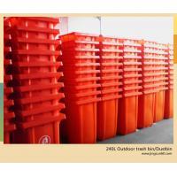 Plastic storage bins outdoor recycling bins large plastic waste bins