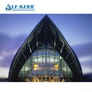 China Prefab  Bolt Ball Joint Steel Space Frame Church Building  Structure Conference Hall  Wedding Hall on sale