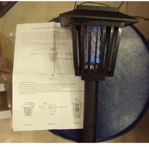 China AP-1118 solar mosquito killer lamp, solar purple led lawn lighting.Led lawn lamp on sale