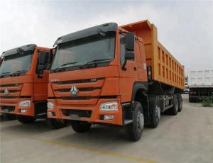 China Diesel Engine Heavy Duty Dump Truck Single Cabin 2 Seating Type ZZ3317N4267A on sale