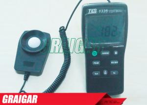 China TES-1335 Electrical Instruments Digital Light Meter Ranging 0 to 400,000 Lux High Precision on sale