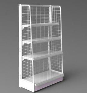 Nail Polish Wall Mounted Wire Display Rack Retail Store Fixture Shopdisplaystands