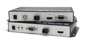 China HDMI KVM Fiber Extender (transparant USB transmission) on sale