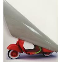 Printable PVC cast car decal advertising material for UV Latex ECO solvent printer