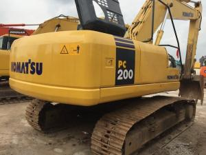 China Used Crawler Hydraulic Excavator Komatsu PC200-7 3200 Hours Under Good Condition on sale