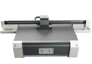 China Wall Paper Uv Flatbed Printing Machine , Uv Ink Glass Digital Printing Machine on sale