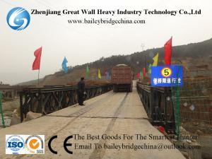 China Cb100(321) TSR Painted Bailey Bridge,Modular,Temporary bridge in Angola,Quick bridge, PSB on sale