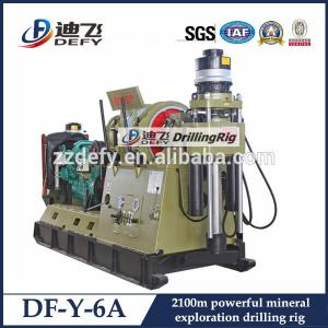 China DF-Y-6A diamond core drill rig for sale in Africa, Russia, South America on sale
