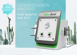 China Portable Diamond Microdermabrasion Home Machines / Aqua Peeling System on sale