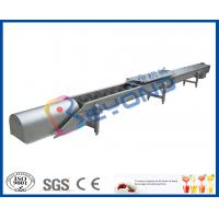 China Screw Conveyor Design Fruit Processing Equipment With SUS304 Stainless Steel on sale