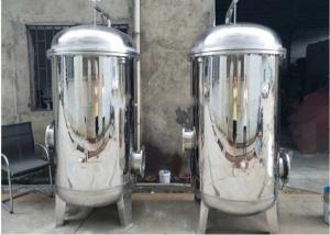 China Single / Multi Bag Filter Housing Industrial Filtration Equipment Easy Operation on sale