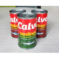 Calvo Brand Canned Sardine Canned Fish in Tomato Sauce with or without Chili